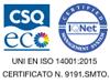 UNI EN ISO 14001:2015 cert. numero 9191.SMTO.